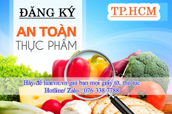 Đăng ký vệ sinh an toàn thực phẩm tại tphcm