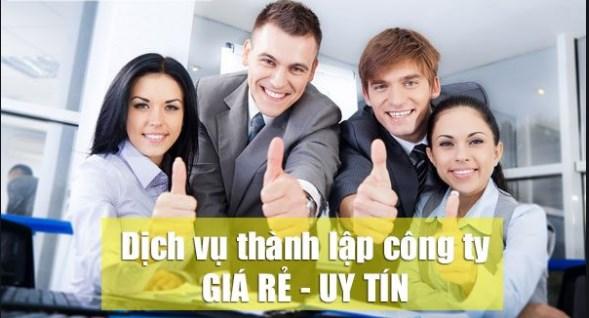 Dịch vụ thành lập công ty giá rẻ của luatvn.vn