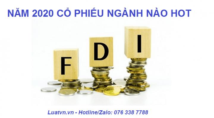 Cổ phiếu nào hưởng lợi từ FDI
