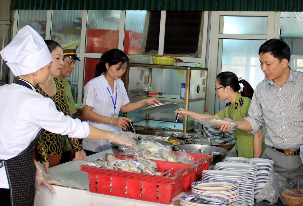 Thủ tục kiểm tra vệ sinh an toàn thực phẩm tại doanh nghiệp