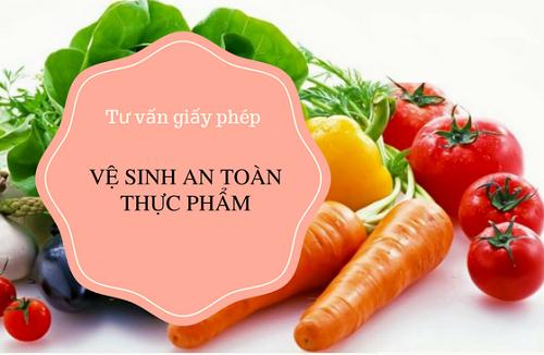 Luatvn.vn tư vấn giấy phép an toàn vệ sinh thực phẩm