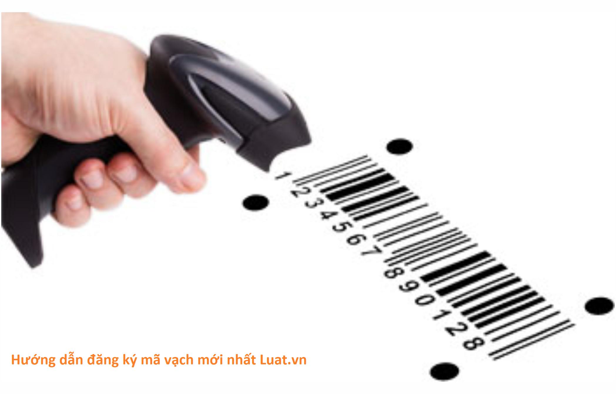 Hướng dẫn đăng ký mã vạch mới nhất