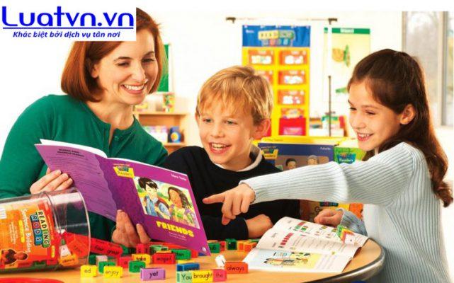 Điều kiện thành lập trung tâm ngoại ngữ cho trẻ em