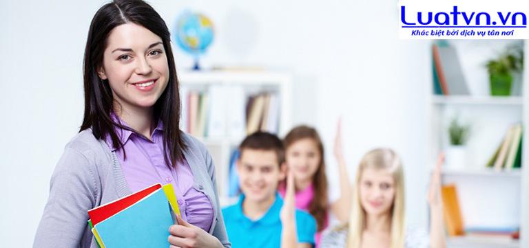 Luatvn tư vấn thành lập trung tâm ngoại ngữ cho trẻ em