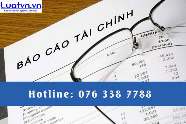 Dịch vụ báo cáo tài chính chuyên nghiệp tại Luatvn