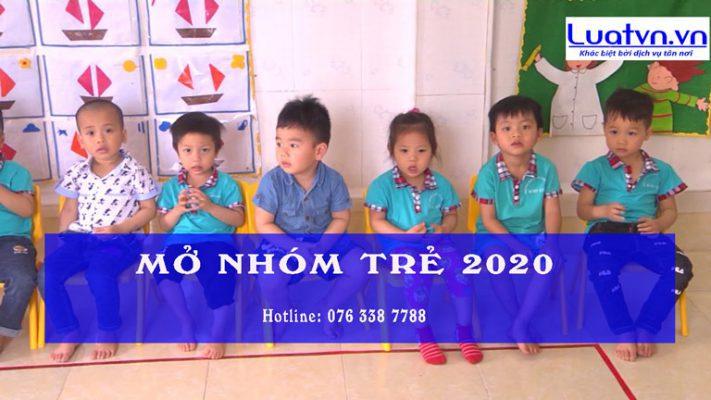 Điều kiện mở nhóm trẻ 2020 đúng pháp luật