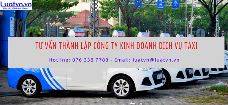 Dịch vụ thành lập công ty kinh doanh taxi đơn giản, nhanh chóng