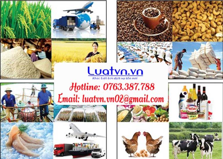 Thủ tục sau khi đăng ký kinh doanh nông sản