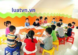 Điều kiện thành lập và hoạt động nhóm trẻ