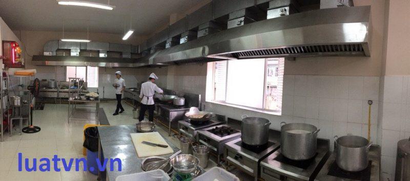 Bếp ăn khu công nghiệp