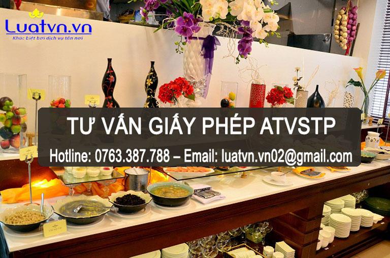 Tư vấn xin giấy phép ATVSTP cho quán nướng buffet