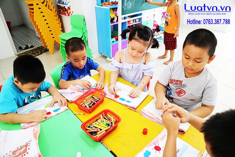 Quy trình thụ lý hồ sơ thành lập nhóm trẻ tư thục