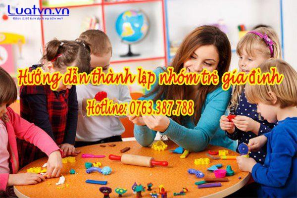 Hướng dẫn chuẩn bị điều kiện thành lập nhóm trẻ gia đình