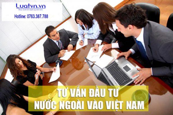 Quy trình đầu tư nước ngoài vào Việt Nam