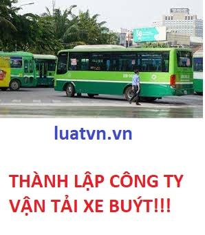Thành lập công ty vận tải xe buýt