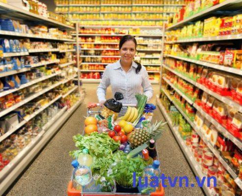 Vệ sinh an toàn thực phẩm siêu thị