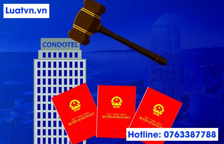 Quy định cấp sổ đỏ cho condotel, officetel, biệt thự du lịch