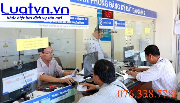 Văn phòng đăng ký đất đai tại thành phố Hồ Chí Minh