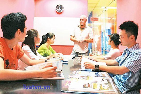 Quy định thành lập trung tâm ngoại ngữ tin học