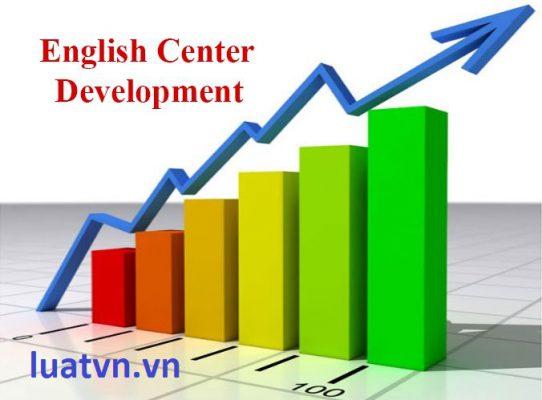 Thẩm quyền thành lập trung tâm ngoại ngữ