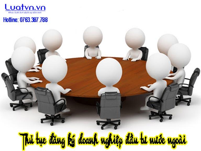 Thủ tục đăng ký doanh nghiệp đầu tư nước ngoài