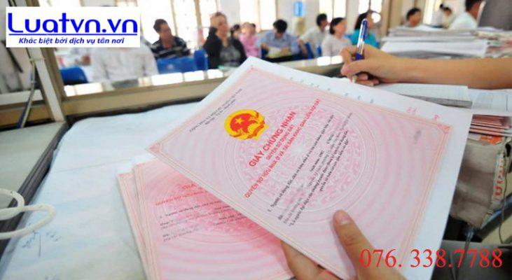 Thủ tục đăng ký biến động đất đai