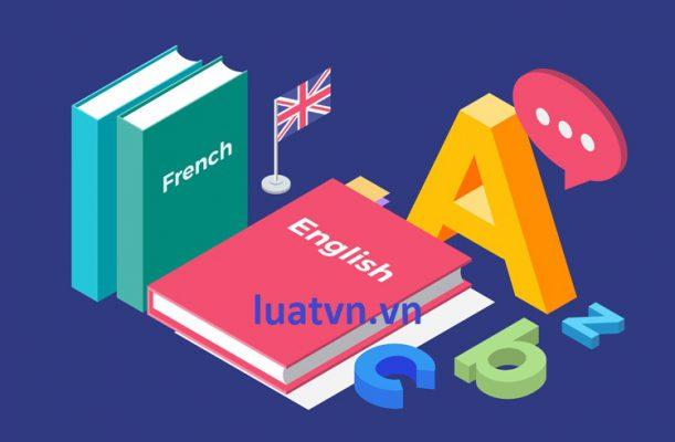 Vốn thành lập trung tâm ngoại ngữ