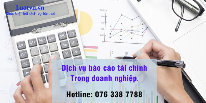 Dịch vụ báo cáo tài chính trong doanh nghiệp của Luatvn.vn