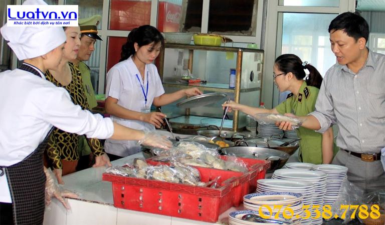 Các bước kiểm tra vệ sinh an toàn thực phẩm tại cơ sở kinh doanh