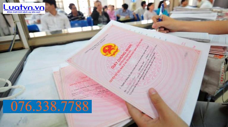 Chuẩn bị giấy tờ liên quan khi thực hiện đăng bộ nhà đất