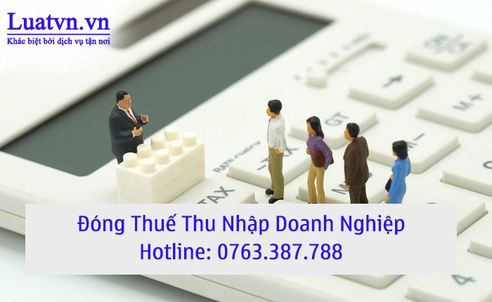 Tư vấn đóng thuế TNDN