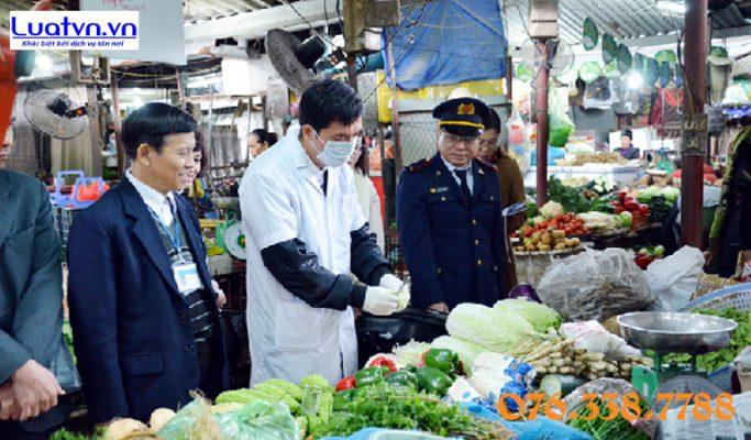 Đoàn kiểm tra liên ngành vệ sinh an toàn thực phẩm