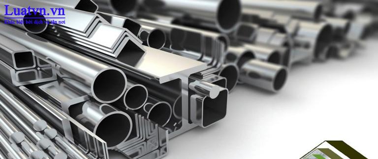 Sắt thép là loại vật liệu cốt cán trong lĩnh vực kinh doanh vật liệu xây dựng