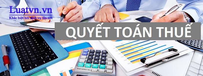 Quyết toán thuế định kỳ