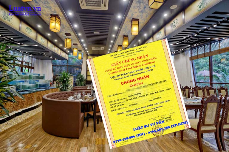 Giấy phép vệ sinh an toàn thực phẩm cho nhà hàng bắt buộc không