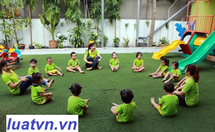 Yêu cầu mở nhóm trẻ