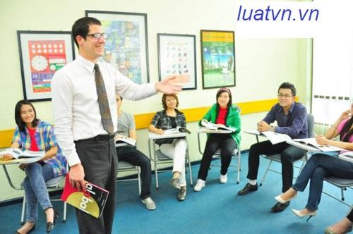 Yêu cầu mở trung tâm ngoại ngữ