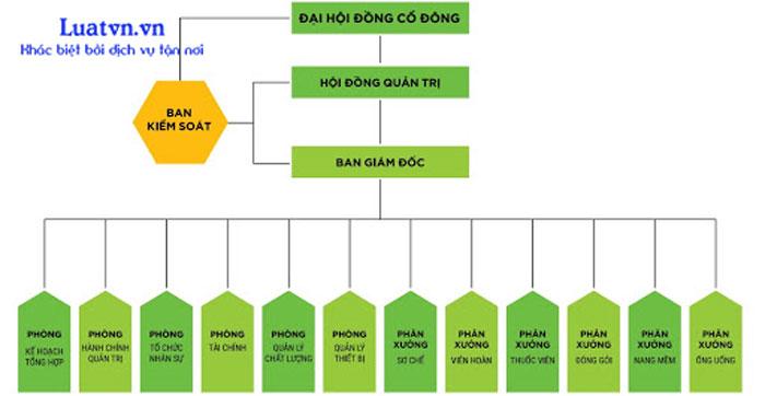 Cơ cấu tổ chức công ty cổ phần như thế nào?