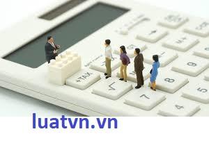 Hạch toán chi phí bị loại sau quyết toán