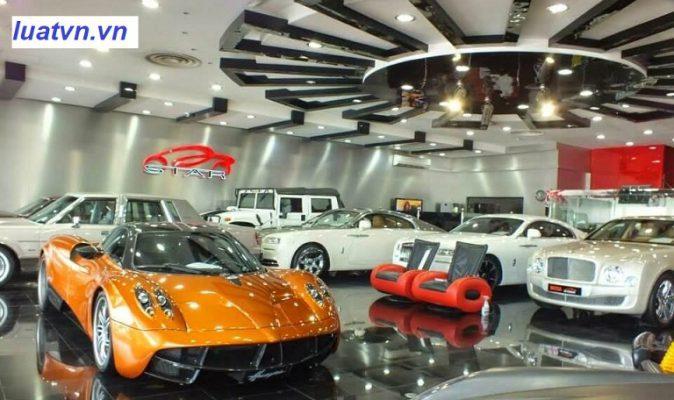Kế toán công ty bán ô tô