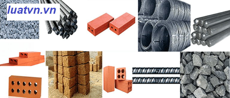 Kế toán công ty vật liệu xây dựng