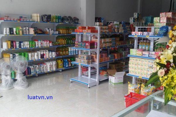 Mở cửa hàng tạp hóa cần giấy tờ gì?