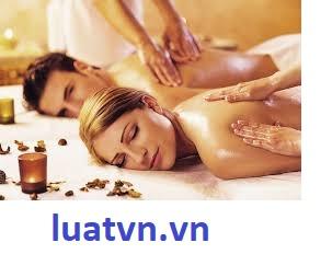 Ngành nghề kinh doanh dịch vụ massage