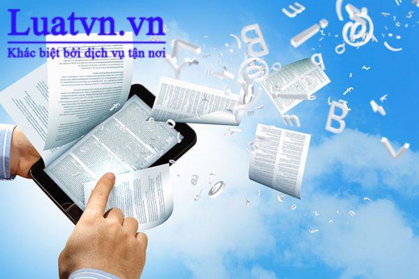 Hồ sơ chuẩn bị thành lập công ty sản xuất hàng điện tử