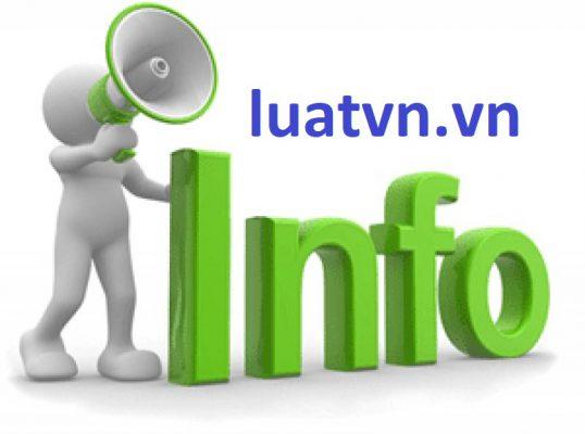 Thông báo thay đổi nội dung đăng ký thuế