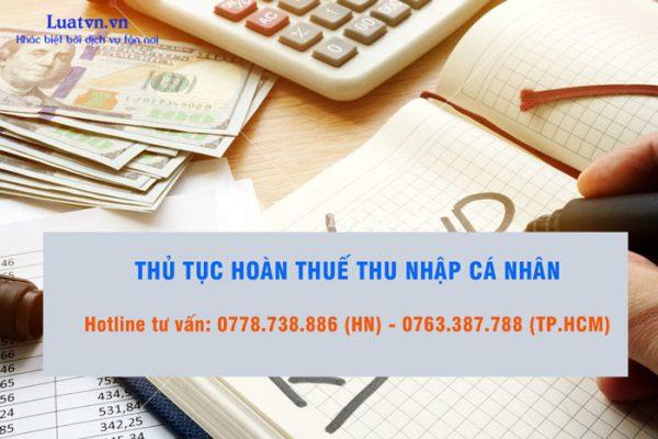 Tìm hiểu dịch vụ hoàn thuế thu nhập cá nhân