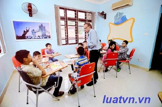 Tư vấn mở trung tâm ngoại ngữ