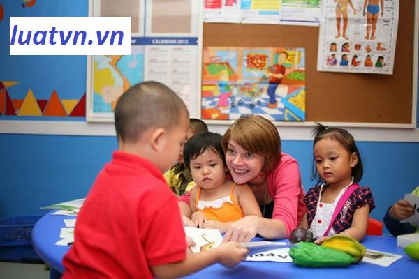 Yêu cầu giáo viên dạy trung tâm ngoại ngữ