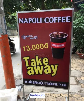 Mở quán cà phê mang đi take away