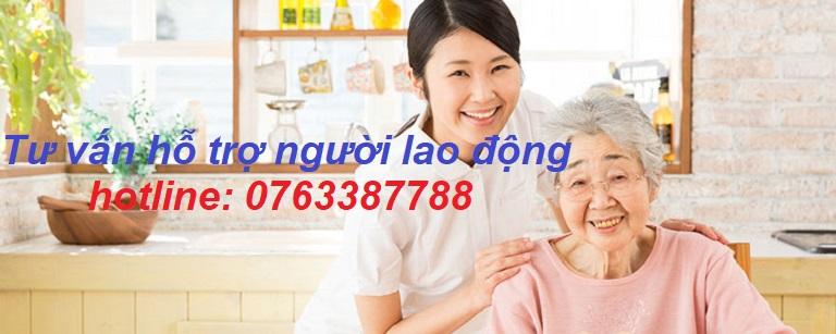 Công việc chăm sóc người già tại Nhật